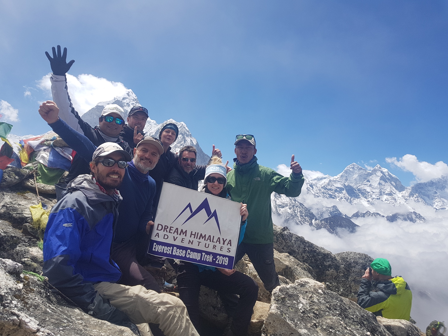 Successful Everest Base Camp Trek: year 2019 - Dream Himalayan Adventure Pvt. Ltd.