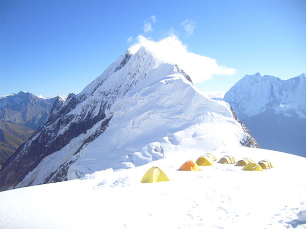 View - Mount Manaslu expedition