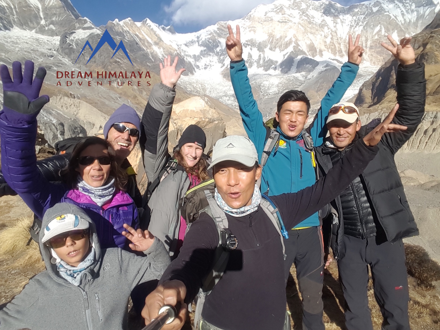 Annapurna Base Camp with French team