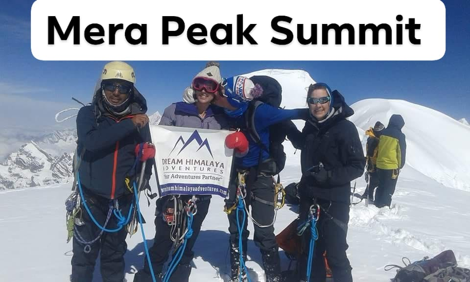 Mera Peak Summit by team from Dream Himalaya Adventures