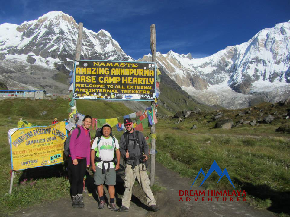 Annapurna Base Camp Pic