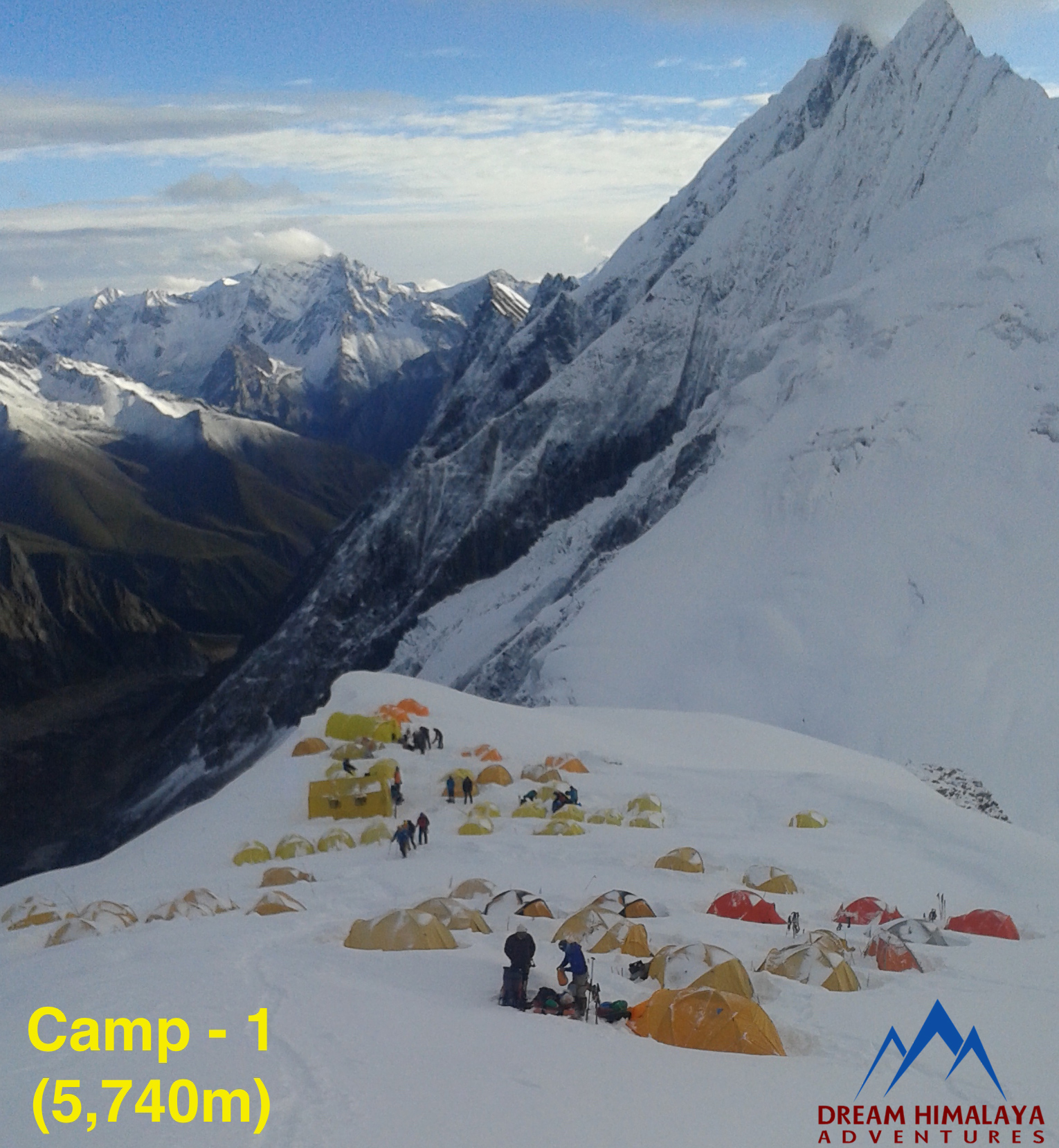 Camp-1, Mt Manaslu