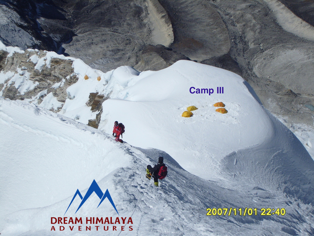 Camp III Mt. Amadablam Expedition