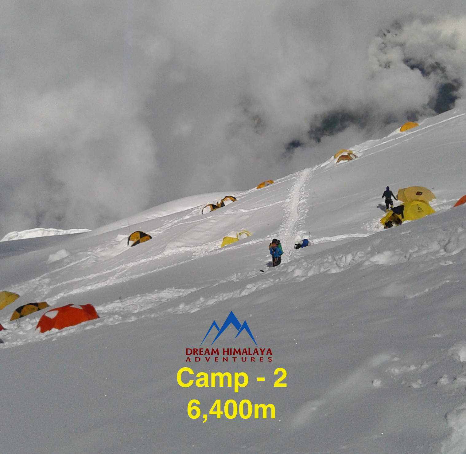 Camp-2, Mt Manaslu