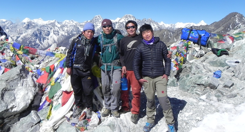Cho La Pass - Everest Three Pass Trek