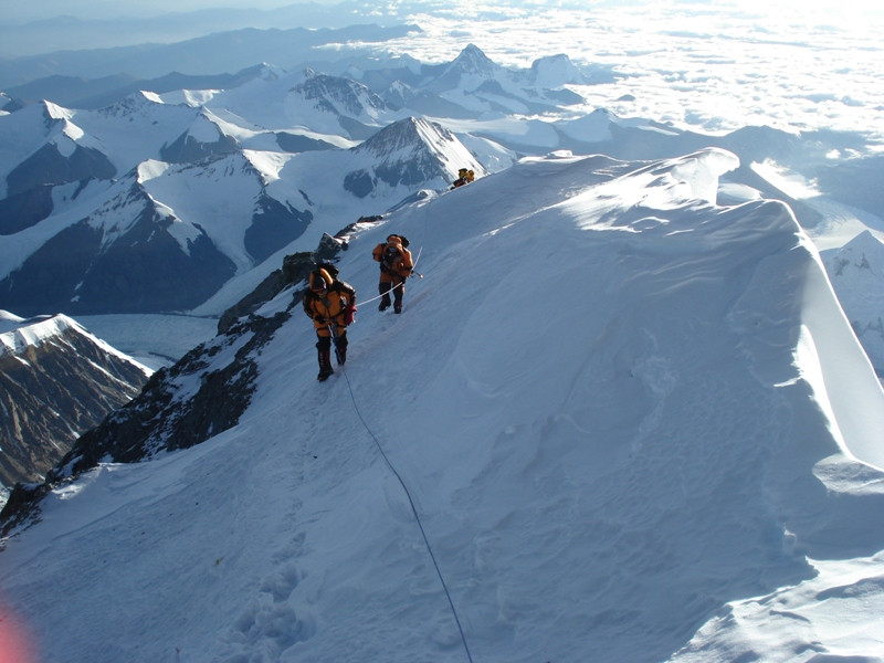 Climbing to 8300 on North Everest