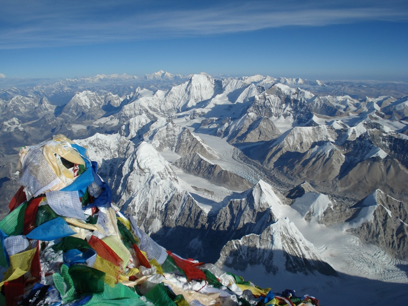 Summit of Mt Everest