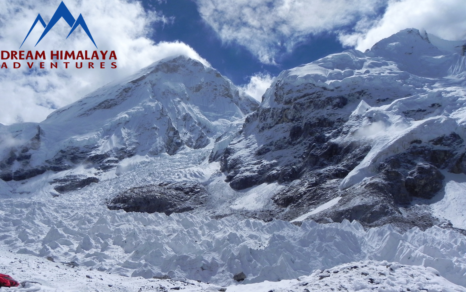 Lhola and Khumbu Ice Fall