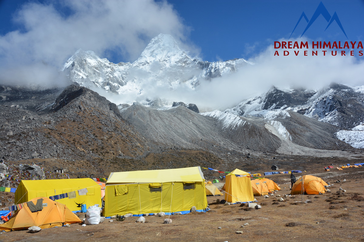 Mt. Amadablam Base Camp