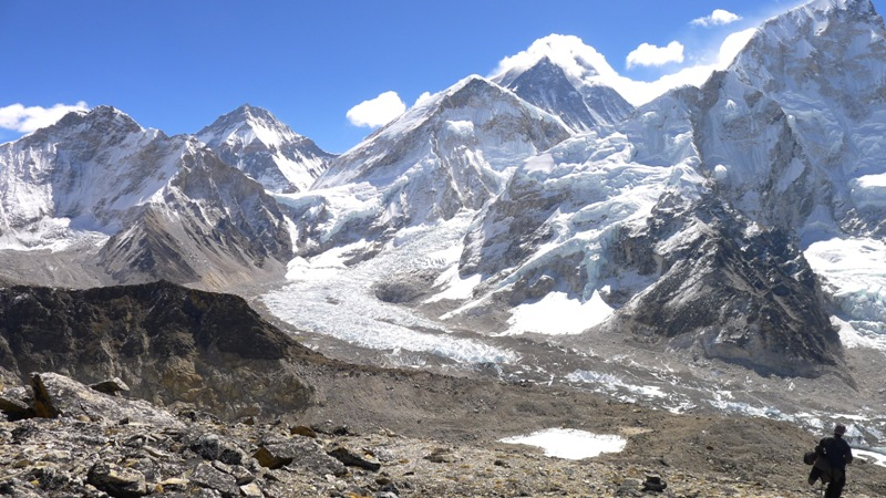 Mt. Everest and Lho la