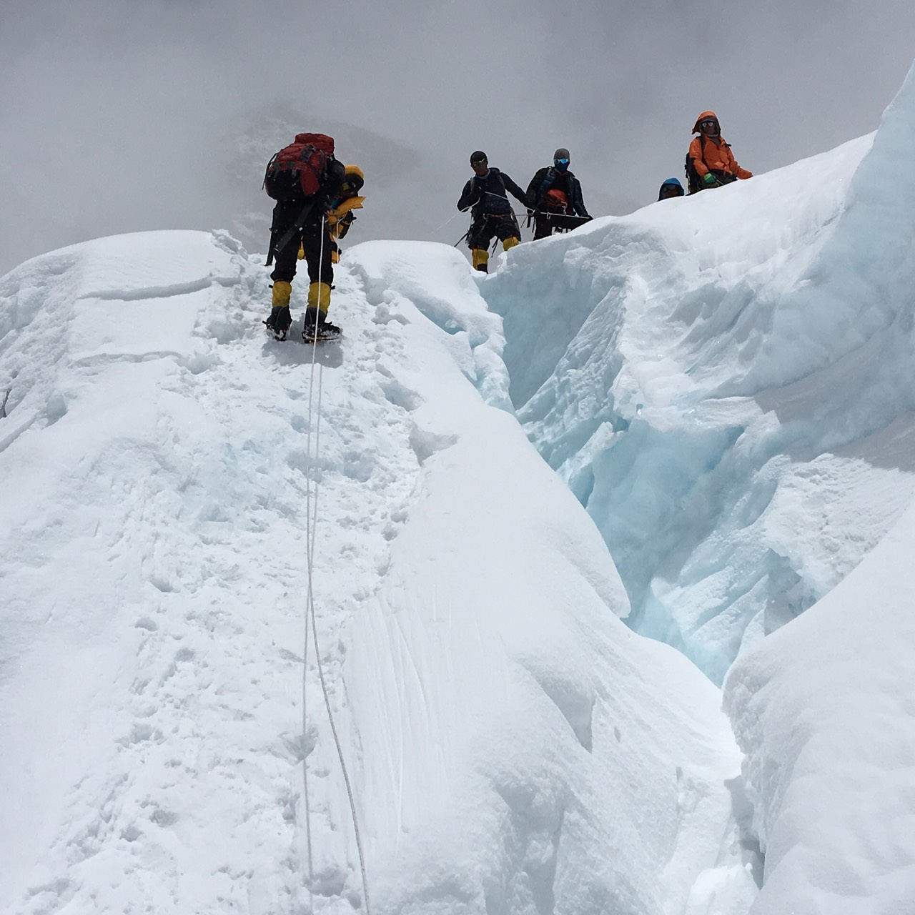 On the way - Mt. Kanchenjunga Expedition
