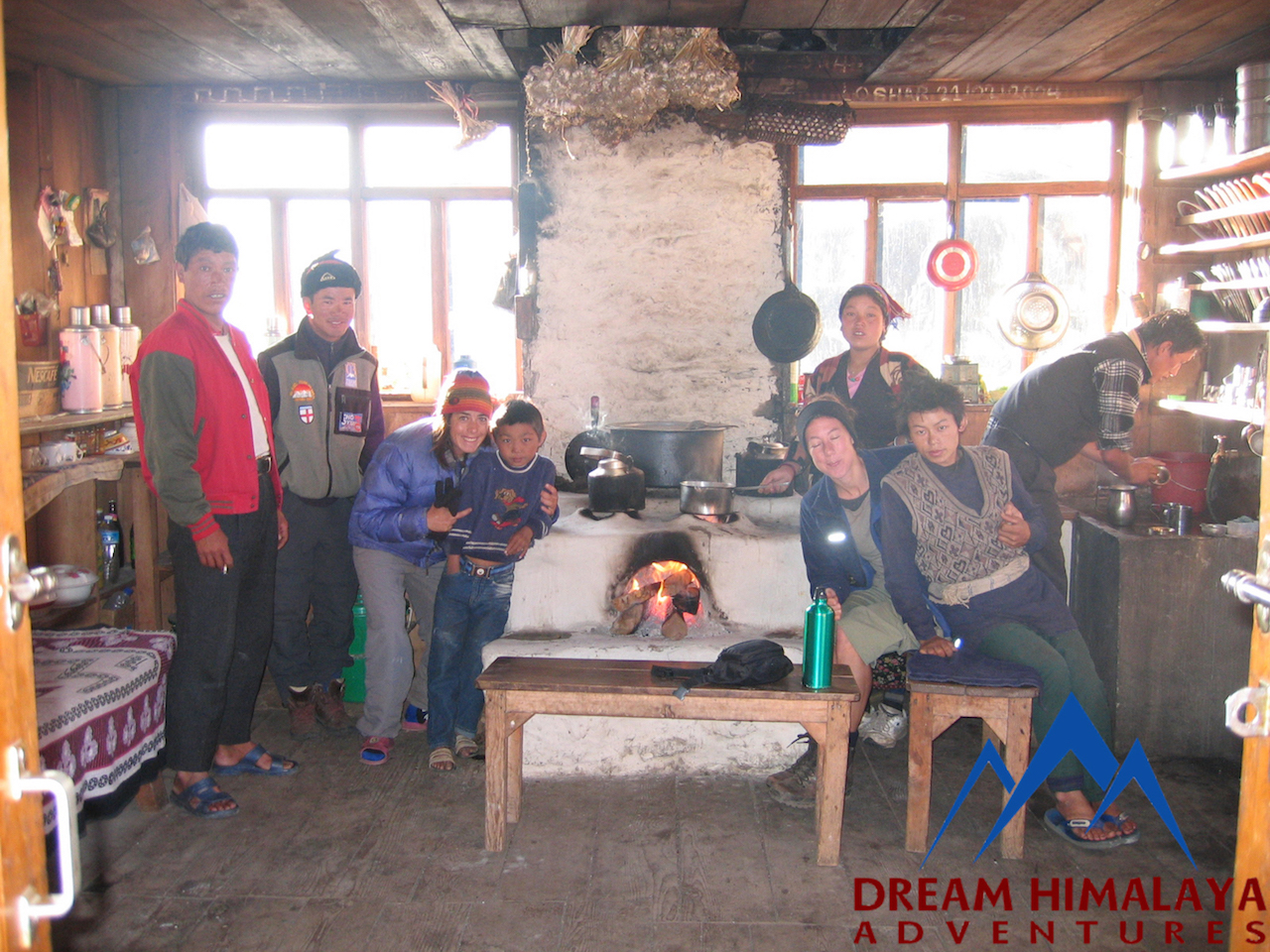 Local teahouse in Langtang region
