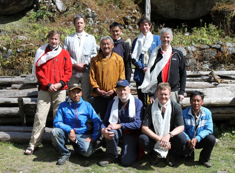 Dream himalaya staff and Team from New Zealand Yangma Expedition