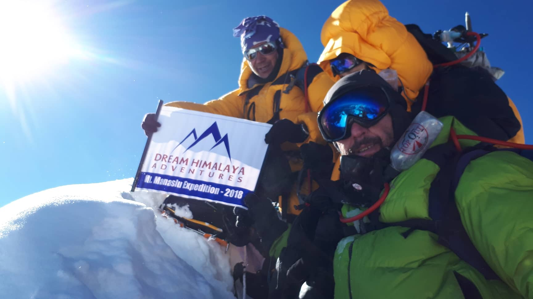 Karma on Manaslu Summit