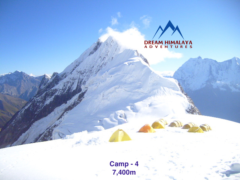 Camp-4, Mt Manaslu