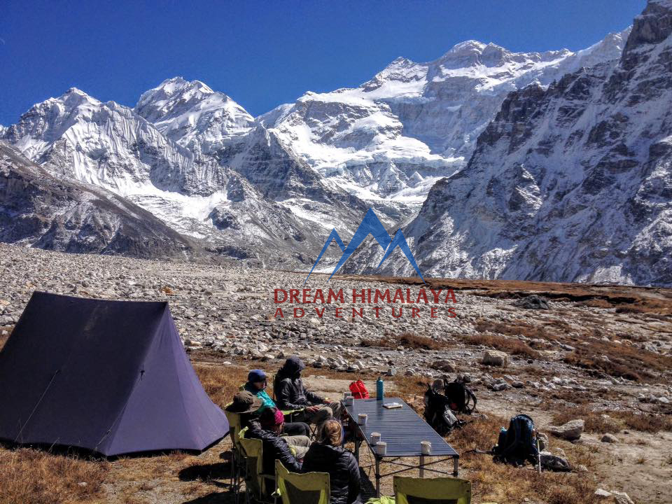 Peng Pema base camp / Kanchenjunga North Base Camp
