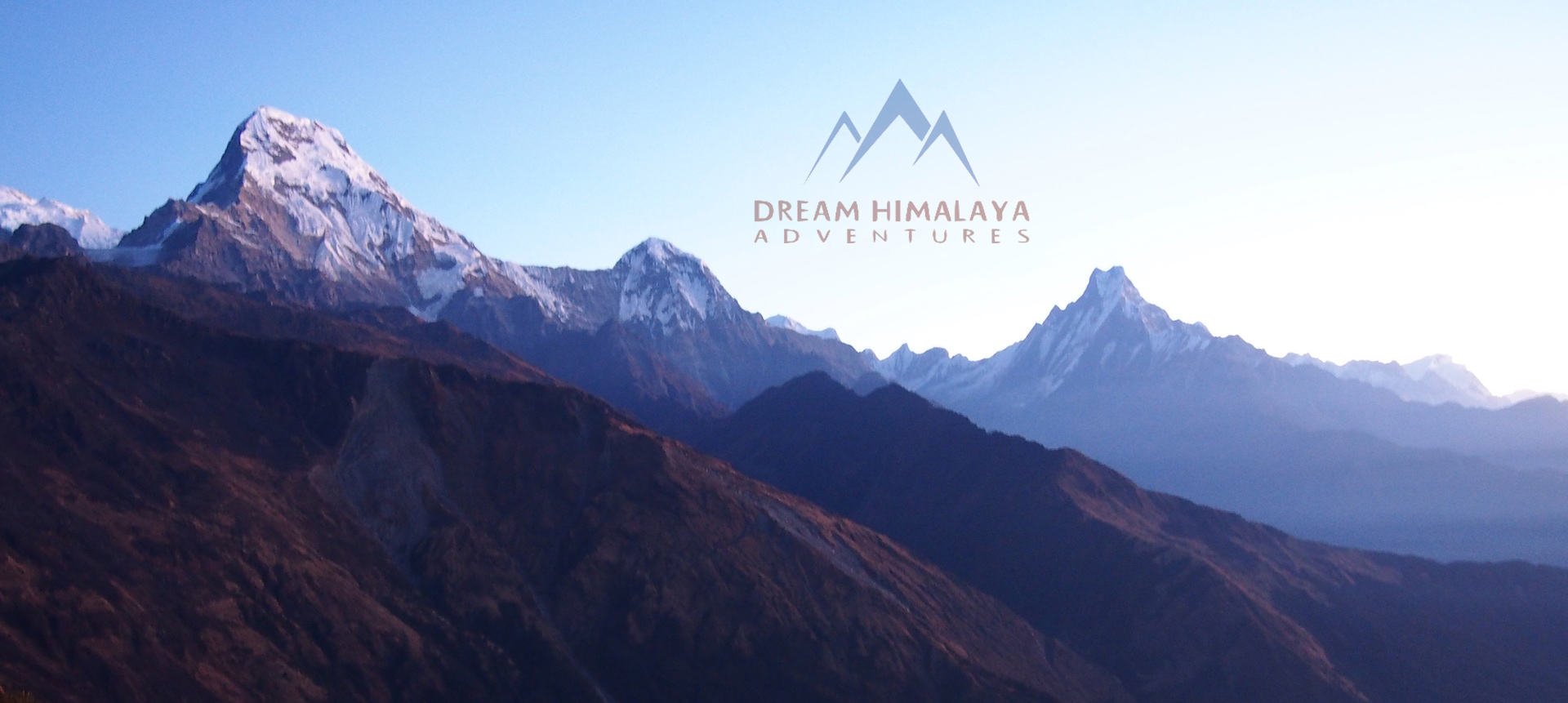 Mt. Fishtail and other peaks Mardi Himla Trekking