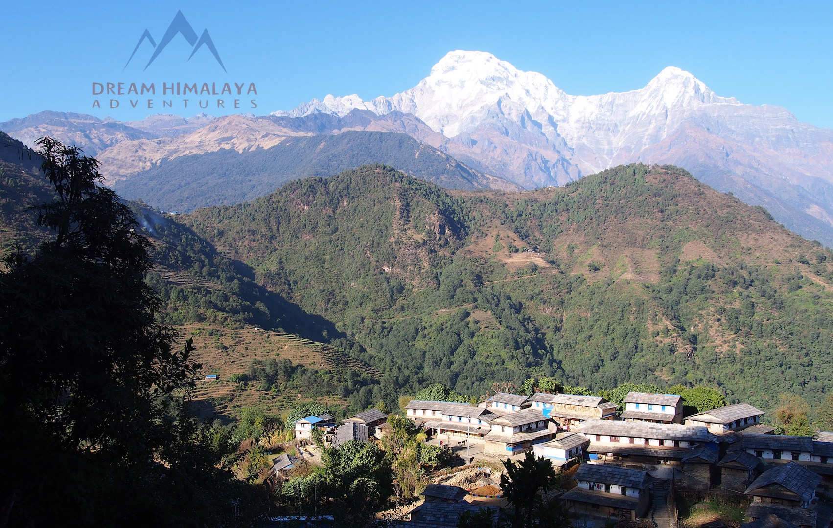 Local village Mardi himal trekking