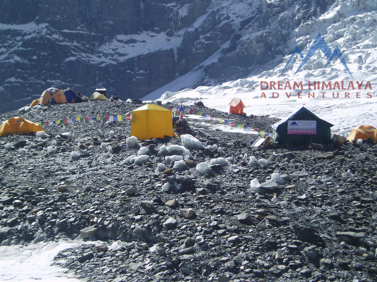 Mt Dhaulagiri Base Camp
