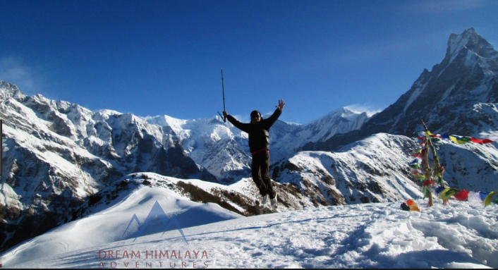 High Camp Mardi Himal Trekking