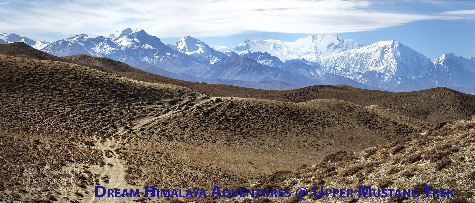 Views while on Mustang Trekking
