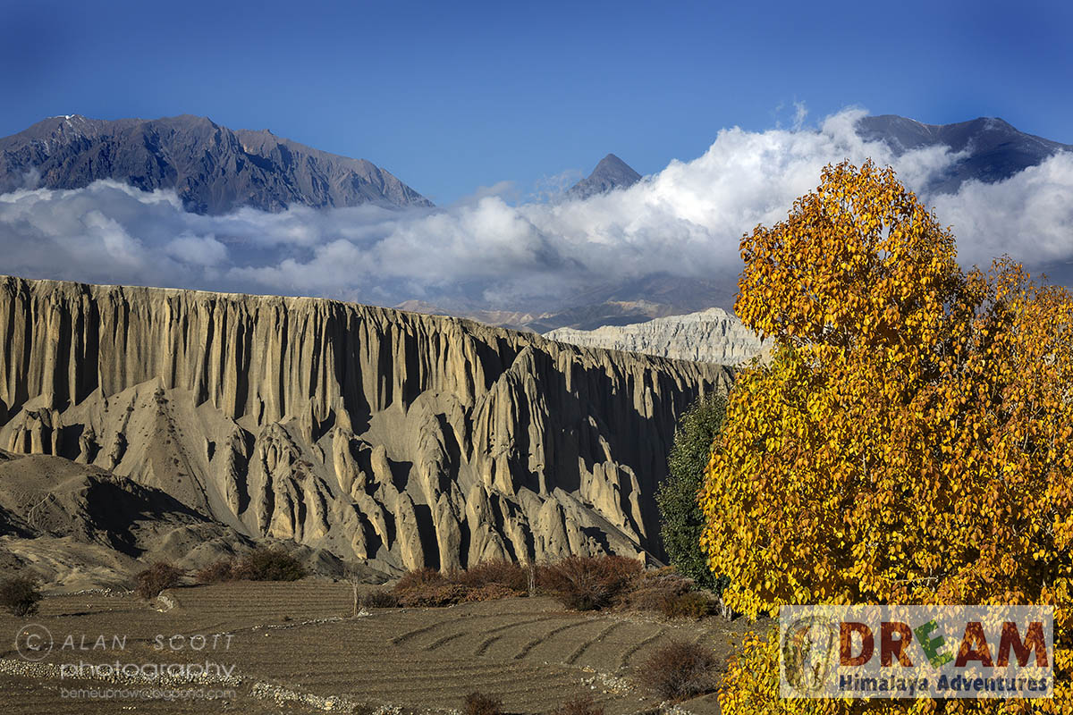 Beauty of nature while on Upper Mustang Trekking