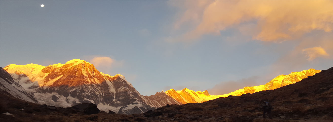 Sunrise view, Mt. Annapurna