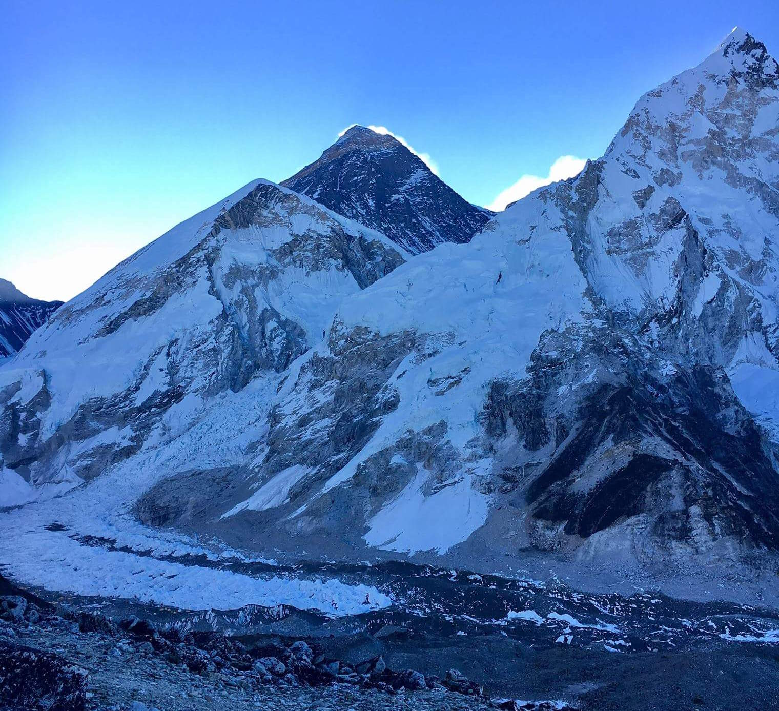 View - Mt. Everest Expedition