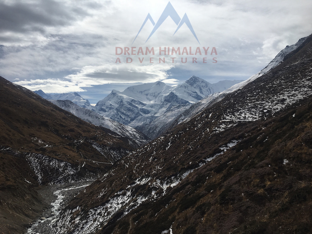 view in Annapurna region